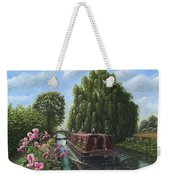 Mary Jane Chesterfield Canal Nottinghamshire Weekender Tote Bag