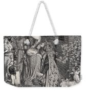 Mary Magdalene At The Door Of Simon Weekender Tote Bag