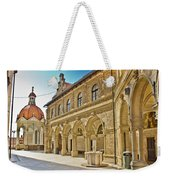 Mary Of Bistrica Shrine Architecture  Weekender Tote Bag