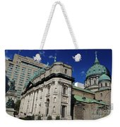 Mary Queen Of The World Cathedral Montreal Weekender Tote Bag