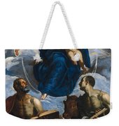 Mary With The Child Weekender Tote Bag