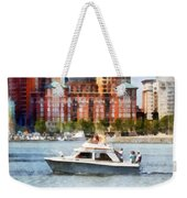 Maryland - Cabin Cruiser By Baltimore Skyline Weekender Tote Bag