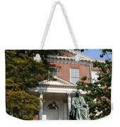 Maryland State House And Statue Weekender Tote Bag
