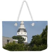 Maryland State House Cupola Weekender Tote Bag