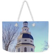 Maryland State House Dome Weekender Tote Bag
