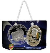 Maryland State Police Weekender Tote Bag