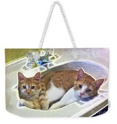 Mary's Cats Weekender Tote Bag
