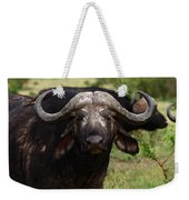 Masai Mara Buffalo Weekender Tote Bag