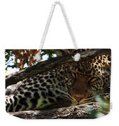 Masai Mara Leopard  Weekender Tote Bag