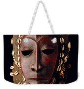 Mask From Ivory Coast Weekender Tote Bag