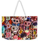 Mask Me In El Casco By Diana Sainz Weekender Tote Bag