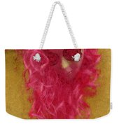 Mask Pastel Chalk 1 Weekender Tote Bag
