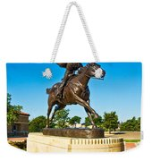 Masked Rider Statue Weekender Tote Bag