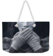 Masked Woman Weekender Tote Bag