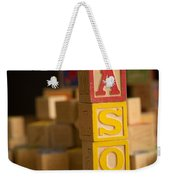Mason - Alphabet Blocks Weekender Tote Bag