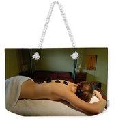 Massage Weekender Tote Bag