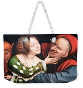Massays' Ill Matched Lovers Or Badly Matched Lovers Weekender Tote Bag
