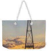 Massey Windmill Silhouette Weekender Tote Bag