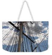 Mast And Clouds Weekender Tote Bag