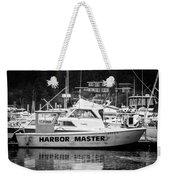 Master Of The Harbor Weekender Tote Bag by Melinda Ledsome