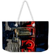 Master Of The Old Red Barn Weekender Tote Bag
