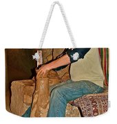 Master Potter At Work In Avanos-turkey Weekender Tote Bag by Ruth Hager