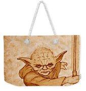 Master Yoda Wisdom Weekender Tote Bag