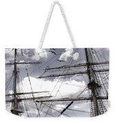 Masts Of Sailing Ships Weekender Tote Bag