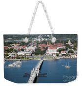 Matanzas Harbor St Augustine Florida Weekender Tote Bag