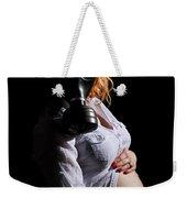 Maternity Gas Mask Weekender Tote Bag
