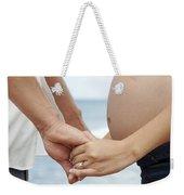 Maternity Love Weekender Tote Bag