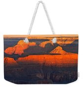 Mather Point Sunrise Grand Canyon National Park Weekender Tote Bag