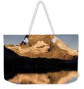 Matterhorn Reflected In Riffelsee Lake  Weekender Tote Bag