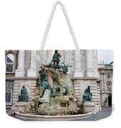 Matthias Fountain In Budapest Weekender Tote Bag