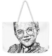 Mattie Stepanek Weekender Tote Bag