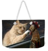 Matty And Rooster #1 Weekender Tote Bag