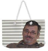 Mature Man Looking At Viewer Weekender Tote Bag