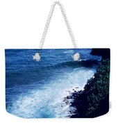 Maui Shoreline On The Way To Hana Weekender Tote Bag by J D Owen