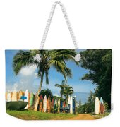 Maui Surfboard Fence - Peahi Weekender Tote Bag