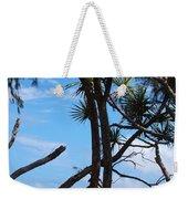 Maui Tree Silhouette Weekender Tote Bag