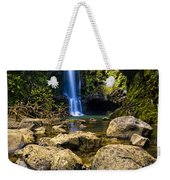Maui Waterfall Weekender Tote Bag by Adam Romanowicz