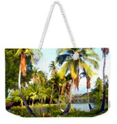 Mauna Lani Fish Ponds Weekender Tote Bag