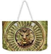 Mausoleum Lion Weekender Tote Bag