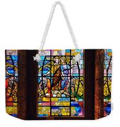 Mausoleum Stained Glass 01 Weekender Tote Bag
