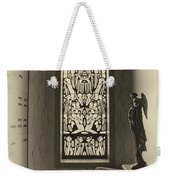 Mausoleum Stained Glass 02 Weekender Tote Bag