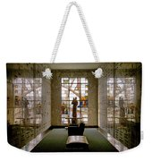 Mausoleum Stained Glass 04 Weekender Tote Bag