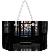 Mausoleum Stained Glass 05 Weekender Tote Bag
