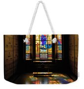 Mausoleum Stained Glass 06 Weekender Tote Bag