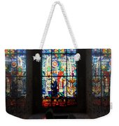 Mausoleum Stained Glass 07 Weekender Tote Bag