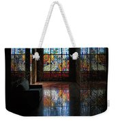 Mausoleum Stained Glass 08 Weekender Tote Bag